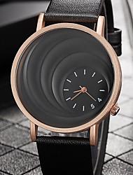 Недорогие -Жен. Наручные часы Кварцевый Повседневные часы PU Группа Аналоговый На каждый день Мода Элегантный стиль Черный / Коричневый - Черный Кофейный