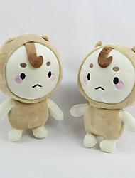cheap -Stuffed Toys Doll Toys Dog Family Friends Cute Soft Cartoon Toy Decorative Cartoon Design Kids Adults' 1 Pieces