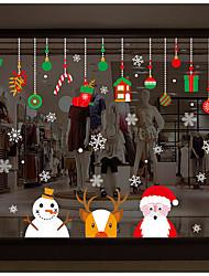 economico -Adesivi decorativi da parete - Adesivi aereo da parete Natale Camera da letto
