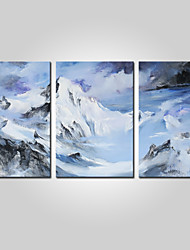 cheap -Stretched Canvas Print Comtemporary, Three Panels Canvas Horizontal Print Wall Decor Home Decoration