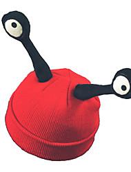 baratos -Conto de Fadas Caracol Chapéus Preto Vermelho Entrelaçado Acessórios para Cosplay Natal Dia Das Bruxas