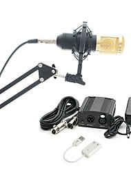 cheap -KEBTYVOR BM800 Wired Microphone Sets Condenser Microphone Professional For PC