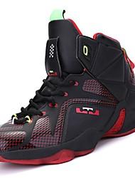 abordables -Homme Chaussures Polyuréthane Hiver Automne Confort Chaussures d'Athlétisme Basketball pour Athlétique Décontracté Noir et Or Preto e
