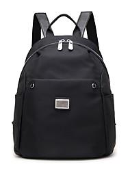 baratos -Mulheres Bolsas Tecido Oxford mochila Ziper para Ao ar livre Azul Escuro / Cinzento / Roxo