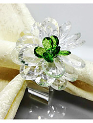 cheap -European Style Plastic Square Napkin Ring Table Decorations