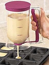 abordables -Plastique dur Creative Kitchen Gadget Pour pain Outils de desserts, 1pc