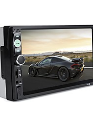 baratos -7010b universal 7 polegadas 2 din carro áudio estéreo player tela de toque carro video mp5 player suporte bluetooth tf sd mmc usb fm rádio