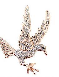 Недорогие -Броши - Искусственный бриллиант Eagle, Животный принт Классика, Мода Брошь Золотой Назначение Повседневные
