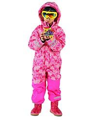 economico -Bambini Tuta da sci Caldo Ompermeabile Antivento Indossabile Traspirabilità Sport da neve Chiffon vellulato