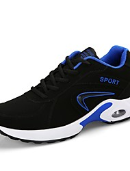 cheap -Men's Shoes PU Fall / Winter Comfort Athletic Shoes Running Shoes Black / White / Black / Red / Black / Blue