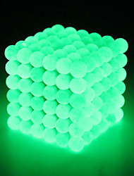 cheap -Magnet Toys Super Strong Rare-Earth Magnets Magnetic Balls Stress Relievers 125 Pieces 5mm Toys Classical Globe Fluorescent Stress and