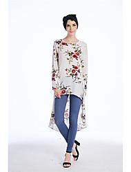 economico -Camicia Per donna Per eventi Boho Fantasia floreale