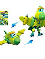 economico -Robot Barchette giocattolo Aeroplanino Combattente Giocattoli Dinosauro Animali Animali Autovetture Animali trasformabile Interazione tra