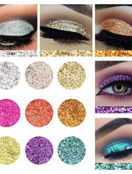 preiswerte -1 Lidschattenpalette Schimmer Lidschatten-Palette Puder Alltag Make-up Halloween Make-up Party Make-up Feen Makeup Cateye Makeup Smokey