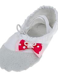 economico -Per donna Scarpe da danza classica Di corda Ballerine Intagli Piatto Personalizzabile Scarpe da ballo Bianco