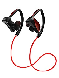 cheap -JR-U12 Ear Hook Wireless Headphones Dynamic Plastic Sport & Fitness Earphone with Volume Control with Microphone Stereo Headset
