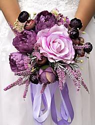 abordables -Fleurs de mariage Bouquets Mariage Soirée Autre matériel Polyester 30cm