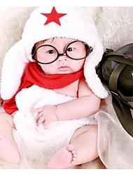 Baby Pige Tøjsæt Fødselsdag Ensfarvet,Nylon Forår Sommer Uden ærmer Sødt Hvid