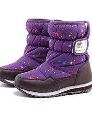 cheap -Girls' Shoes Leatherette Winter Fall Comfort Snow Boots Boots Mid-Calf Boots for Casual Red Purple White