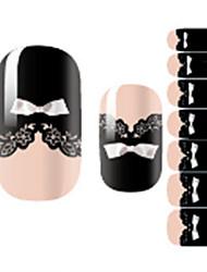 Недорогие -1 Наклейки для ногтей Наклейка для ногтей Как на фотографии Украшение для дизайна ногтей