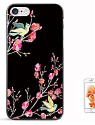 Недорогие -Кейс для Назначение Apple iPhone 8 Pluss / iPhone 8 / iPhone 7 Plus С узором Кейс на заднюю панель Животное Мягкий ТПУ