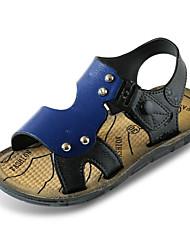 abordables -Garçon Chaussures Polyuréthane Eté Confort Sandales pour Marron / Bleu
