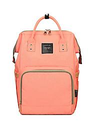 baratos -Mulheres Bolsas Tecido Oxford mochila Ziper para Casual Laranja / Cinzento / Roxo