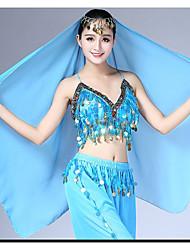 baratos -Dança do Ventre Mulheres Espetáculo Elastano Véu