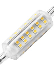 economico -YWXLIGHT® 1pc 6W 500-600 lm R7S LED a pannocchia 72 leds SMD 2835 Decorativo Luci a LED Bianco caldo CA 220-240 V