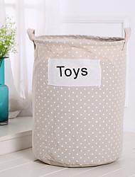 baratos -Tecidos Redonda Multifunções Casa Organização, 1pç Sacos & Cestas de Roupas