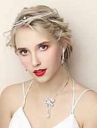 Недорогие -Жен. Комплект ювелирных изделий - Мода Включают Серебряный Назначение Свадьба Для вечеринок