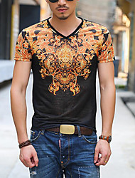preiswerte -Herrn T-shirt, Rundhalsausschnitt Druck