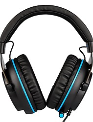 cheap -SADES R3 Headband Wired Headphones Dynamic Plastic Gaming Earphone with Volume Control / with Microphone Headset