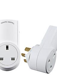 preiswerte -Intelligente Fernbedienung Steckdose UK Standard RF Fernbedienung für Smart Home Wireless Remote Steckdose Stecker 1 bis 5