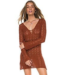 cheap -Women's Cover-Up - Hollow, Lace Classic Style Tie Side