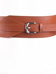 cheap -Women's Casual Alloy Waist Belt
