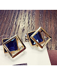 cheap -Women's Stud Earrings Fashion Lovely Crystal Alloy Cubic Jewelry Party Daily Costume Jewelry