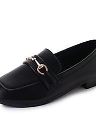 cheap -Women's Shoes Fabric Summer Light Soles Flats Flat Heel Square Toe for Casual Dress Black Green Pink