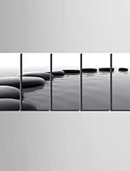 Недорогие -Холст для печати Деревня Modern, 5 панелей холст Вертикальная С картинкой Декор стены Украшение дома