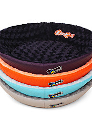 cheap -Dog Beds Pet Mats & Pads Solid Orange Gray Purple Blue For Pets