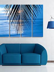 abordables -Toile Rustique Moderne, Quatre Panneaux Toile Format Vertical Imprimé Décoration murale Décoration d'intérieur