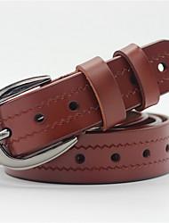 cheap -Men's Waist Belt - Solid Color Pure Color
