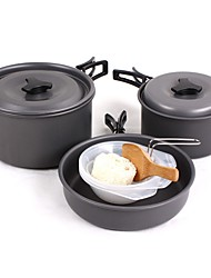 economico -Pentola da campeggio Attrezzi cucina all'aperto Indossabile Confezione inclusa Acciaio inossidabile per Campeggio
