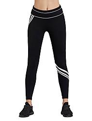 Недорогие -Жен. 1 Брюки для бега - Белый, Синий Виды спорта Спандекс Брюки Бег Спортивная одежда Воздухопроницаемость