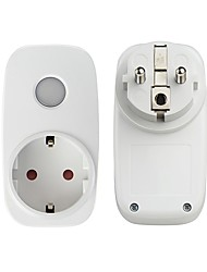 cheap -Broadlink SP3S WiFi Smart Socket Plug Remote Control with Power Meter - EU PLUG  WHITE
