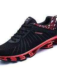 Недорогие -мужская обувь pu весна падение комфорт спортивная обувь ходьбы обувь для наружного красный черный