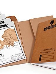 Недорогие -Не персонализированные Высококачественная бумага Блокнот Карточка с царапинами Для нее Для него Свидетельница Дружка Пара Коллеги