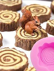 Недорогие -Инструменты для выпечки силикагель Инструмент выпечки / День рождения / День Благодарения Печенье / Cupcake / Для торта Формы для нарезки печенья
