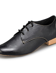 "cheap -Men's Latin Leather Sneaker Training Trim Low Heel Black 1"" - 1 3/4"" Customizable"