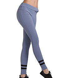 abordables -Mujer Pantalones de Running - Morado, Gris oscuro Deportes Licra Pantalones / Sobrepantalón Ropa de Deporte Transpirabilidad